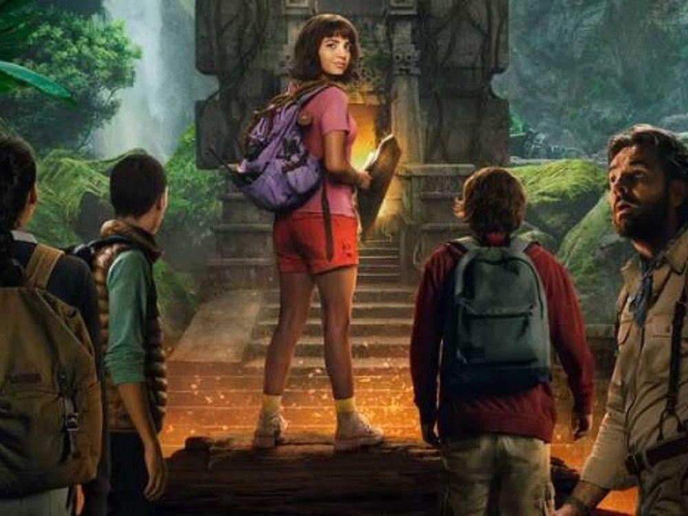 """Kadr z filmu """"Dora i Miasto Złota"""""""