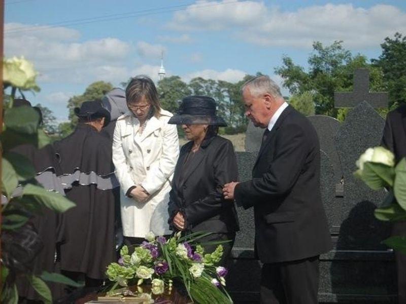 Pogrzeb Kingi Legg
