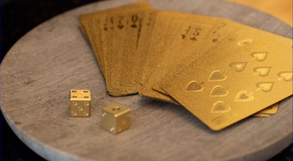 Karty ze złota
