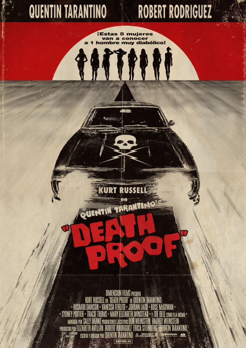 Grindhouse: Death Proof (2007) online. Obsada, opinie, opis fabuły, zwiastun