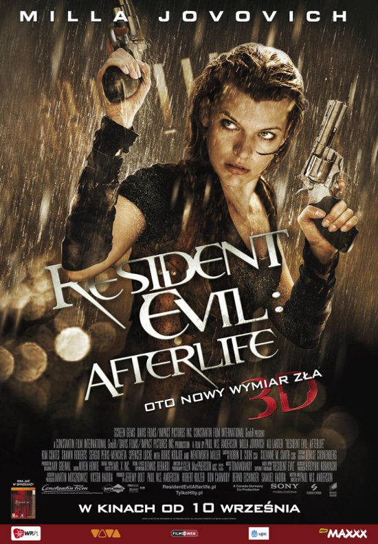 Resident Evil: Afterlife (2010) online. Obsada, opinie, opis fabuły, zwiastun